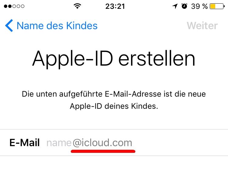 neue email adresse anlegen